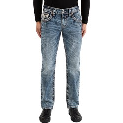 Rock Revival - Mens Albus RP2342J210 Straight Jeans