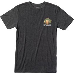 Rvca - Mens Peace Lion Short Sleeve T-Shirt