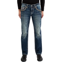 Rock Revival - Mens Kliner TJ2468J209 Straight Jeans
