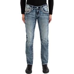 Rock Revival - Mens Kylar RP2486A200 Alternative Straight Jeans
