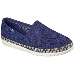 Skechers - Womens Bobs Flexpadrille 3.0 - Summer Siesta Slip On Shoes