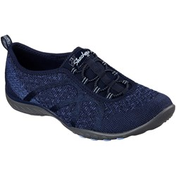 Skechers - Womens Relaxed Fit: Breathe Easy - Fortune-Knit Slip-On Shoes