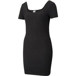 Puma - Womens Classics Square Neck Ribbed Dress Plus