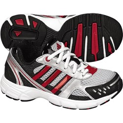 Adidas - Hyperrun 5 Us K Kids Shoes In Light Onix / Red / Black