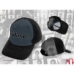 The Doors - Logo Trucker Mens Baseball Hat In Black