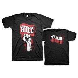 Cypress Hill - Raised Fist Mens T-Shirt In Black