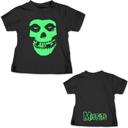 Misfits - Skull Toddler Infant T-Shirt In Black