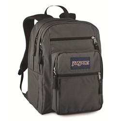 Jansport Big Student Backpack In Forge Grey