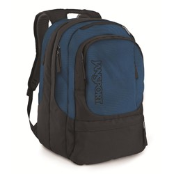 Jansport Air Cure Backpack In Navy/Forgegrey