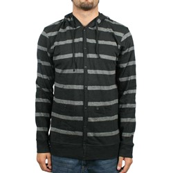 Volcom - Exceed Cardigan L/S Mens Knit Top In Black
