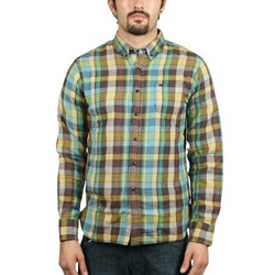 Obey- Fieldman Mens Woven in Mallard Green