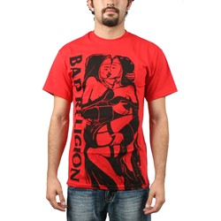 Bad Religion - Naughty Nuns Mens S/S T-Shirt in Red