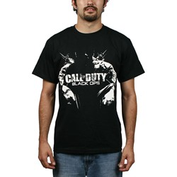 Call Of Duty - Sitting Soldier Mens T-Shirt In Black