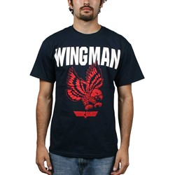 Top Gun - Wing Man Mens T-Shirt In Navy
