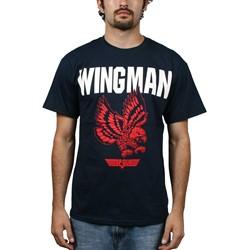 Top Gun - Wing Man Mens T-Shirt In Navy