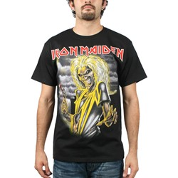 Iron Maiden Killers Adult S/S Tee in Black