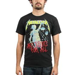 Metallica - Mens Justice Neon T-Shirt
