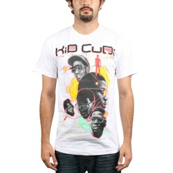 Kid Cudi - Sketch Mens T-Shirt In White