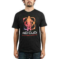 Kid Cudi - Atomic Cudi 30/1 Mens T-Shirt In Black