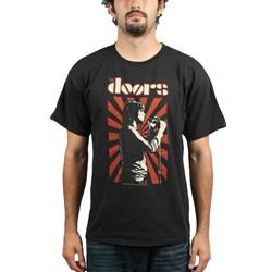 The Doors - Lizard King Adult T-Shirt In Black