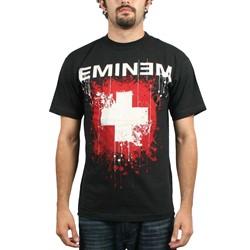 Eminem - Splattered Mens T-Shirt In Black