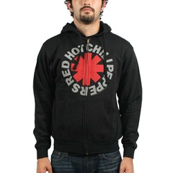 Red Hot Chili Peppers Asterik Zip Mens Hoodie