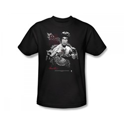 Bruce Lee - The Dragon Slim Fit Adult T-Shirt In Black