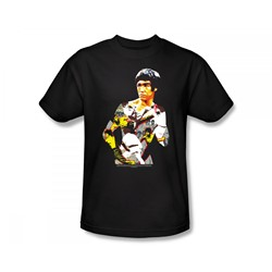 Bruce Lee - Body Of Action Slim Fit Adult T-Shirt In Black