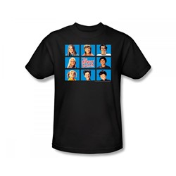 The Brady Bunch - Brady Bunch / Framed Slim Fit Adult T-Shirt In Black