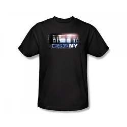 Csi: New York - Csi / New York Subway Slim Fit Adult T-Shirt In Black