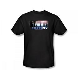Csi: New York - Csi / New York Subway Slim Fit Adult T-Shirt In Black