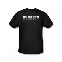 Dynasty - Dynasty / Dynasty Shiny Slim Fit Adult T-Shirt In Black
