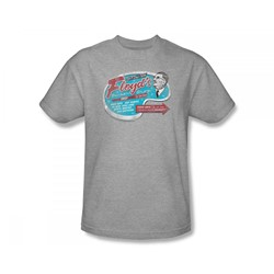 Cbs - Andy Griffith / Floyd's Barber Shop Adult T-Shirt In Heather