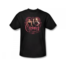 Charmed - Charmed / Charmed Girls Slim Fit Adult T-Shirt In Black