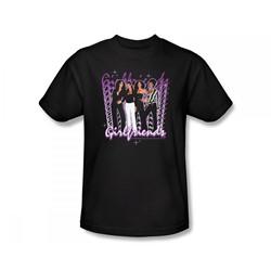 Girlfriends - Girlfriends / Girlfriends Slim Fit Adult T-Shirt In Black