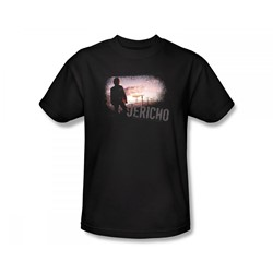Jericho - Jericho / Mushroom Cloud Slim Fit Adult T-Shirt In Black