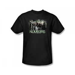 Numbers - Numbers / Numbers Cast Slim Fit Adult T-Shirt In Black