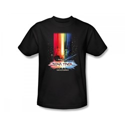 Star Trek I: The Motion Picture - St / Motion Picture Poster Slim Fit Adult T-Shirt In Black