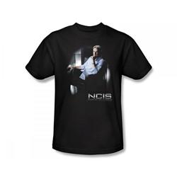Ncis - Ncis / Gibbs Ponders Slim Fit Adult T-Shirt In Black