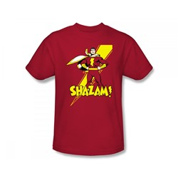 Shazam - Shazam! Slim Fit Adult T-Shirt In Red