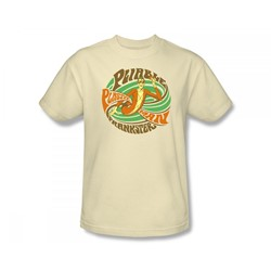 Plastic Man Pliable Prankster Adult S/S T-shirt in Cream by DC Comics