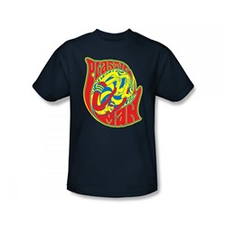 Plastic Man How I Roll Adult S/S T-shirt in Navy by DC Comics