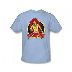 Dc Comics - Starfire Slim Fit Adult T-Shirt In Light Blue