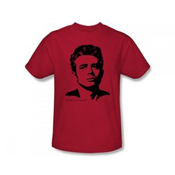 James Dean - Dean Adult T-Shirt In Red