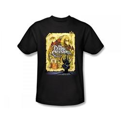 The Dark Crystal - Dark Crystal Poster Slim Fit Adult T-Shirt In Black
