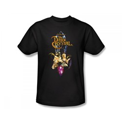 The Dark Crystal - Crystal Quest Slim Fit Adult T-Shirt In Black