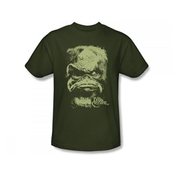 The Dark Crystal - Aughra Slim Fit Adult T-Shirt In Military Green