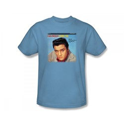 Elvis - Loving You Soundtrack Adult T-Shirt In Carolina Blue