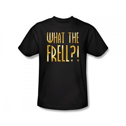 Farscape - What The Frell Slim Fit Adult T-Shirt In Black