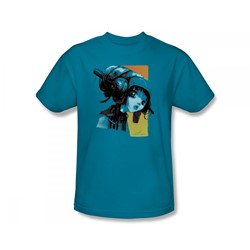 Helmet Girls - Hard Wired Slim Fit Adult T-Shirt In Turquoise